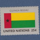 United Nations Postage Stamp 1998 Flag Series Guinea-Bissau