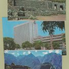 Six Postcards PERU Foreign Scenic Sheraton Hotel Lima