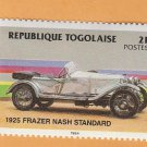 1925 Frazer Nash Standard, Postage Stamp, Republique Togolaise, Automobile, Car
