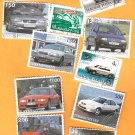 Postage Stamps MODERN CARS International Collection