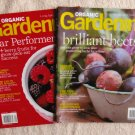 Organic Gardening Magazine Lot of 2 Back Issues 2012 Bees, Root Crops, Berry Fruits