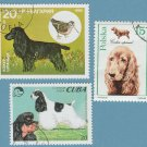 COCKER SPANIEL Postage Stamps Miniature Dog Art