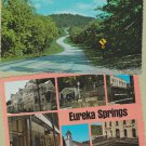Eureka Springs Arkansas Postcards Town Views Scenic Continental