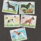 Dog Stamps Assortment Caribbean Collection Canine Art