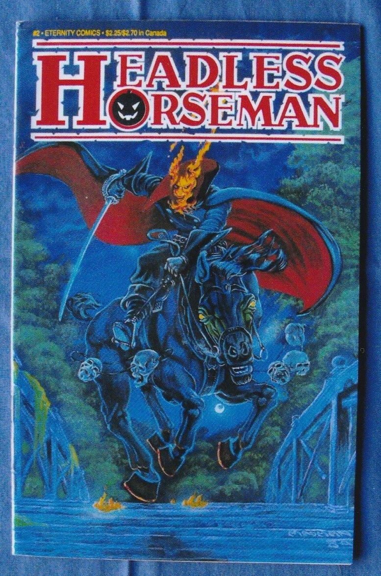 The Headless Horseman Eternity Comics Book Bill Spangler