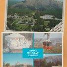 Stone Mountain Memorial Park Georgia Postcards Scenic Views