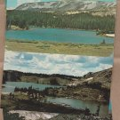WYOMING LAKES Postcards Scenic Pictureesque Snowy Range Rocky Mountains