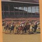 Jumbo Postcard Thoroughbred Horse Racing