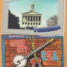 Tennessee Postcards Nashville Music Row Centennial Park Capitol City