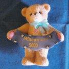 Cherished Teddies Figurine Millenium 2000 Enesco