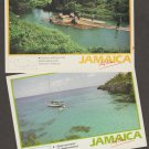 Jamaica Postcards Rafting, Boating, Lot of 2, Advertising