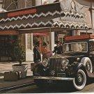 San Franciscan Hotel Postcard Rolls Royce Car Automobile