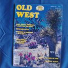 Old West Magazine Spring Issue 1978 Vintage Zane Grey