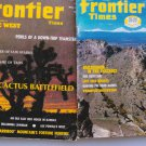 Frontier Times Magazine Western Lot of 2 Ace Powell Railroading