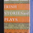 Irish Stories and Plays Paul Vincent Carroll Hard Cover Dust Jacket