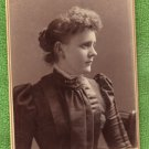 Vintage/Antique Photo Cabinet Card Young Lady/Woman, Trenton, Missouri