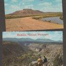 New Mexico Scenic Postcard Tucumcari Mountain, Bandolier National Monument