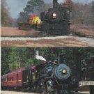 Texas State Railroad Postcards Steam Trains Locomotive No. 400