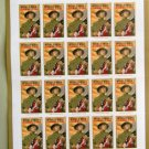 World War 1 Turning The Tide U.S. Pane of 20 Postage Stamps