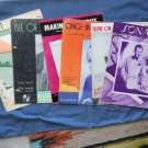 Sheet Music Collection 11 Pieces Vintage Love Songs