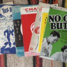 Vintage Sheet Music Colection Assortment 15 Pieces Wall Art Craft Projects
