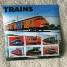 Trains Railway Souvenir Sheet Postage Stamps Locomotives