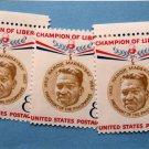 U.S. Postage Stamps Set of 3 Ramon Magsaysay Champion of Liberty