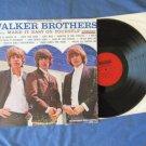 Introducing The Walker Brothers Vinyl LP Record Album 33 1/3 rpm Monaural Pop Music Songs