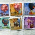 Republica da Guine Bissau (Africa) Fancy Balloons Postage Stamps