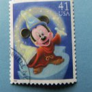 Mickey Mouse Disney Art U.S. Postage Stamp Cartoon