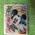 Disney U.S. Postage Stamp Mickey Mouse, Goofy, Donald Duck Scott 3865