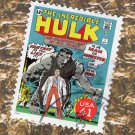 The Incredible Hulk U.S. Postage Stamp, Marvel Comics Scott #4159L