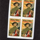 Turning The Tide WW 1 Postage Stamps Forever Block of 4 Military Soldier Veteran