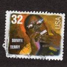 Sonny Terry Folk Musician, U.S. Postage Stamp