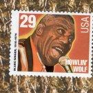 Howlin' Wolf Blues & Jazz Singer, Entertainer, U.S. Postage Stamp