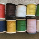 Ten Vintage Thread Spools, Sewing, Quilting, Crafting