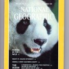 National Geographic Magazine December 1981, Pandas, Mount St. Helens, Cousteau