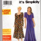 Simplicity 7828 Womens So Easy Dress Patterns, Large Size, Clothing
