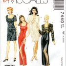 Easy McCall's 7440 Sewing Patterns, Lined Dress, Bolero, Crafts, Clothing