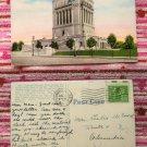Indiana War Memorial, Indianapolis, Postcard, Historic Building