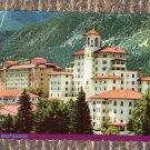 The Broadmoor Hotel, Elegant Historic Building, Colorado Springs, Scenic, Postcard