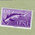 Hammerhead Shark Ifni Postage Stamp MNH Sea Life, Africa, Chordata Sphyrnidae