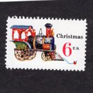 Contemporary Holiday / Christmas U.S. Postage Stamp, Locomotive, Train, Toy Vtg 6c