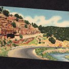 Cedro Canyon Postcard, Cibola National Forest, New Mexico, Scenic, Sandia Loop Drive