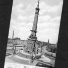 Soldiers & Sailors Monument, Indianapolis, Indiana, Early Postcard, Historic, Landmark