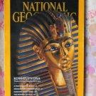 National Geographic Magazine, Eels, King Tutenkhamen, Madagascar, Frazer Island