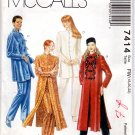 McCalls 7414 Tunic & Pants Patterns, Clothing, Vintage, Sewing, Crafts, Uncut