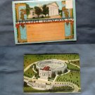 Arlington, Virginia Fold-Out Postcard Folder, National Cemetery, Confederate Memorial