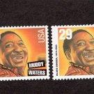 Muddy Waters, Blues & Jazz Singer, U.S. Postage Stamps, Black Heritage, Entertainer