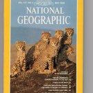 Cheetahs NATIONAL GEOGRAPHIC Magazine, Long Island, Thailand, St. Lawrence, May 1980